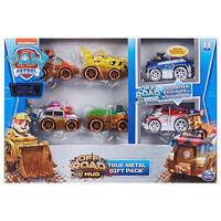 Paw Patrol Toy Car Pack True Metal 6pcs