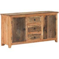 vidaXL Sideboard 140x40x75 cm Solid Reclaimed Wood