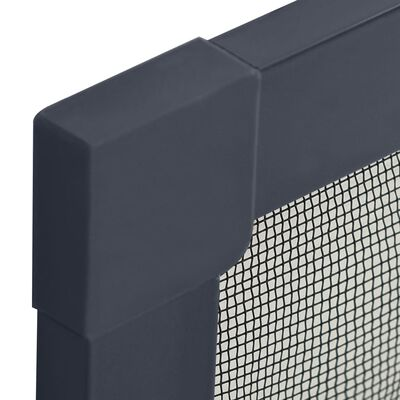 vidaXL Insect Screen for Windows Anthracite 130x150 cm