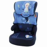 Disney Car Seat Befix Frozen 2 Group 2+3 Blue