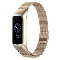 Stainless Steel Watch Band Samsung Galaxy Fit E R375 Gold