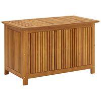 vidaXL Garden Storage Box 90x50x106 cm Solid Acacia Wood