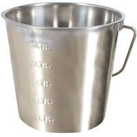 Kerbl Bucket 12.3 L Stainless Steel 29377
