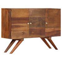 vidaXL Sideboard Brown Solid Reclaimed Wood 110x30x75 cm