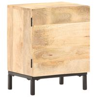 vidaXL Bedside Cabinet 40x30x51 cm Solid Mango Wood