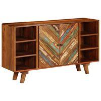 vidaXL Sideboard Solid Reclaimed Wood 140x40x80 cm