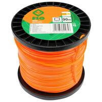 FLO Grass Trimmer Line Extranyl 2.4mm 90m Orange