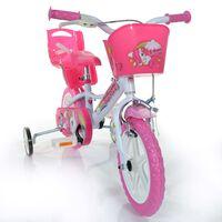 Dino Bikes Kids' Bicycle Unicorn Pink 12