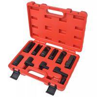 vidaXL 11 Piece Sensor & Sending Unit Socket Set