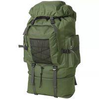 vidaXL Army-Style Backpack XXL 100 L Green