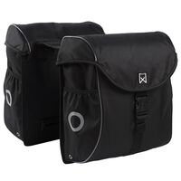 Willex Bicycle Panniers 38 L Black and Silver 16101