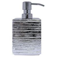 RIDDER Soap Dispenser Brick Silver