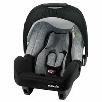 Nania Baby Car Seat Beone Universal Group 0+ Grey