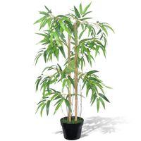 vidaXL Artificial Bamboo Plant Twiggy with Pot 90 cm