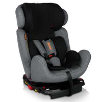 Baninni Baby Car Seat Felice Fix Grey and Black