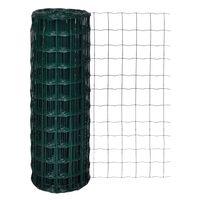 vidaXL Euro Fence Steel 10x1.7 m Green