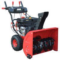 vidaXL Two-Stage Snow Blower Electric/Manual Start 11 HP 302 cc