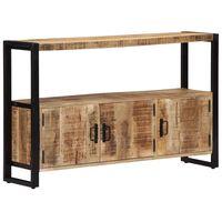 vidaXL Side Cabinet 120x30x75 cm Solid Mango Wood
