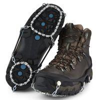 Yaktrax Ice Shoes Traction Device Diamond Grip XL 46+ Black