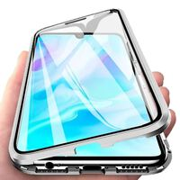 Magnetic Case for Huawei P20 Lite Silver