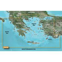 GARMIN VEU015R AEGEAN SEA AND SEA OF MARMARA BLUECHART G3