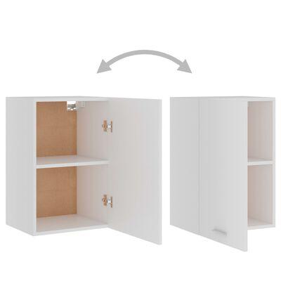 vidaXL Hanging Cabinet White 39.5x31x60 cm Chipboard