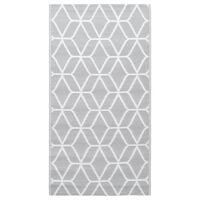 vidaXL Outdoor Carpet Grey 80x150 cm PP