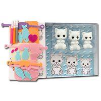 Fuzzikins Craft & Play Kit Cats