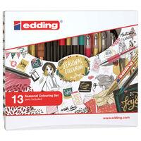 edding 13 Piece Seasonal Colour Pen Set