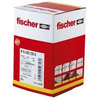 Fischer Plug with Countersunk Head Set Hammerfix N 8 x 60/20 S 50 Piece