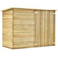 vidaXL Garden Shed House 232x110x170 cm Impregnated Pinewood