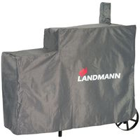 Landmann Barbecue Cover Premium L 130x60x120 cm Grey 15708