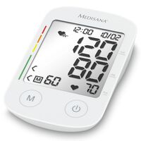 Medisana Upper Arm Blood Pressure Monitor with Voice Function BU 535 Voice White