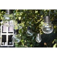 Luxform Battery-operated Party Lights with 10 LEDs Menorca Transparent