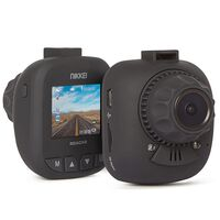 Nikkei Full-HD Dashboard Camera with Nightvision ROADX2 Black