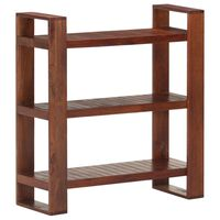 vidaXL Book Cabinet Honey Brown 84x30x90 cm Solid Acacia Wood