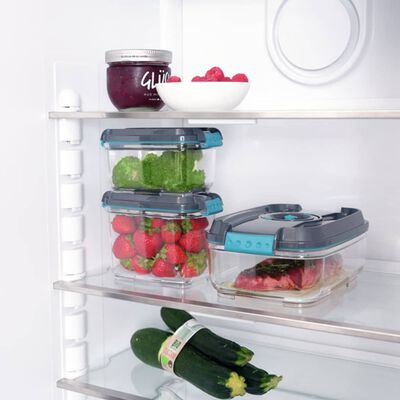 Leifheit Vacuum Food Storage Container Set 3 pcs