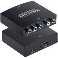 Tiontaire Físe Hd - Ypbpr Agus L / R Audio Go Tiontaire Hdmi