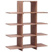 vidaXL Bookshelf 100x30x120 cm Solid Teak Wood