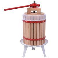vidaXL Fruit and Wine Press 18 L