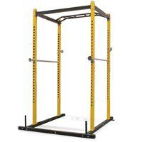 vidaXL Fitness Power Rack 140x145x214 cm Yellow and Black