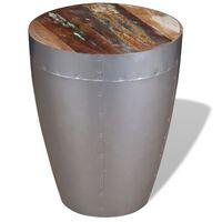 vidaXL Aviator Stool Solid Reclaimed Wood