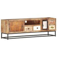 vidaXL TV Cabinet 120x30x40 cm Solid Reclaimed Wood