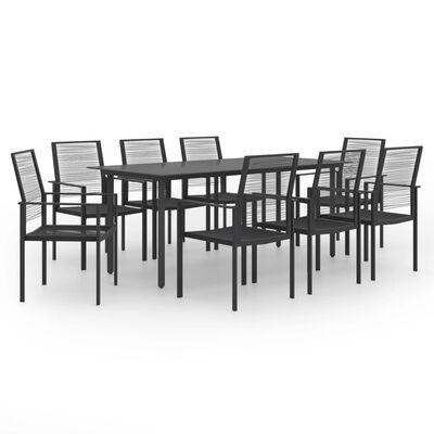 vidaXL 9 Piece Garden Dining Set