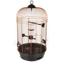 FLAMINGO Bird Cage Sanna 2 Copper 34x34x67 cm
