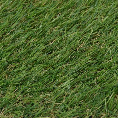 vidaXL Artificial Grass 1.33x5 m/20 mm Green