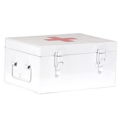 LABEL51 First Aid Box 26x18x13 cm White