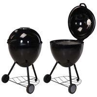 ProGarden Kettle Grill Barbecue 54x92 cm
