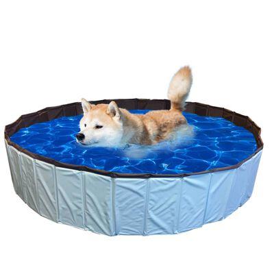 @Pet Dog Swimming Pool 80x20cm S Blue