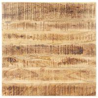 vidaXL Table Top Solid Mango Wood 25-27 mm 70x70 cm